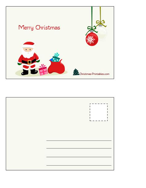 Where Can I Use Post Office Gift Card - free printable christmas postcards
