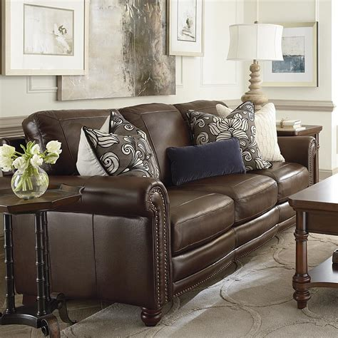 living room accent chairs living room bassett furniture hamilton sofa leather living room bassett furniture
