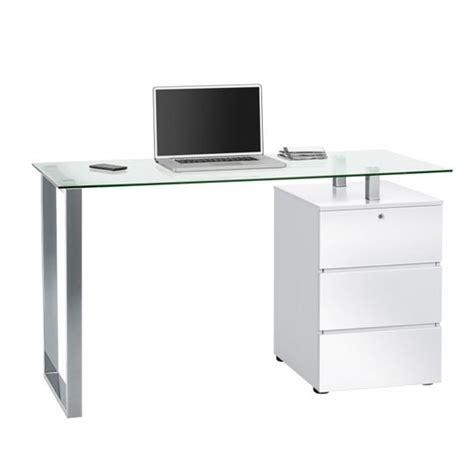 glass white desk high gloss computer desks furniture in fashion