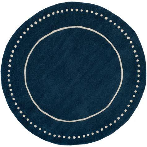 5 ft rugs safavieh navy blue ivory 5 ft x 5 ft area