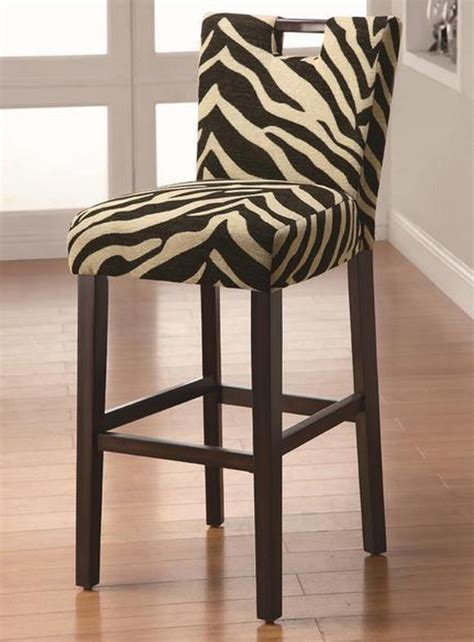 Animal Print Stool Chair by Decorate Your Home In Modern Family Style And Gloria