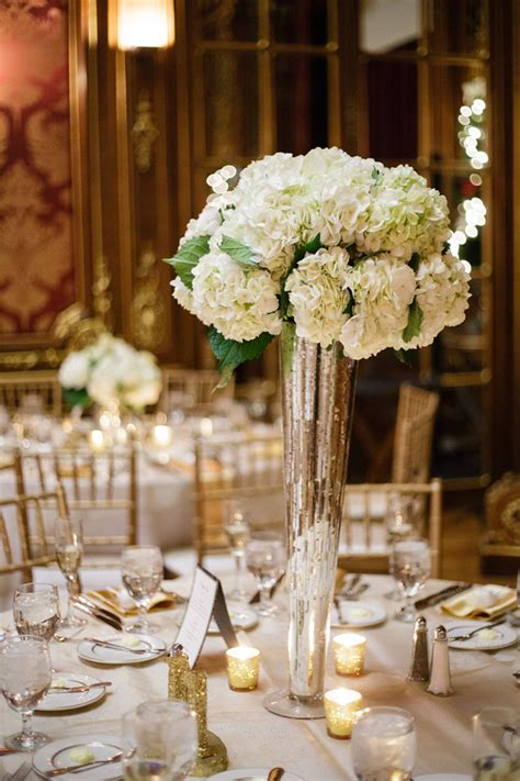 Gorgeous Classic Wedding With Winter Undertones Belle Classic Wedding Centerpieces