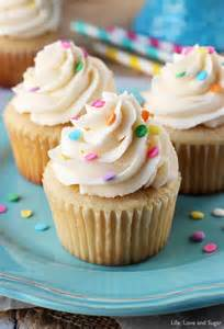 Cupcakes In Moist And Fluffy Vanilla Cupcakes And