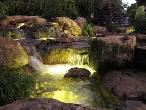 Aquascape Nj by Landscape Led Lighting Monmouth County Nj Bjl Aquascapes