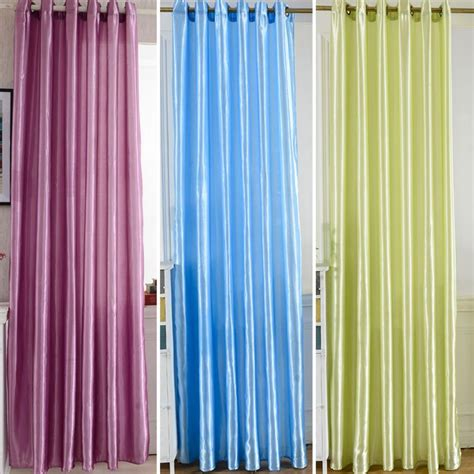 room door window screen curtains blackout lining