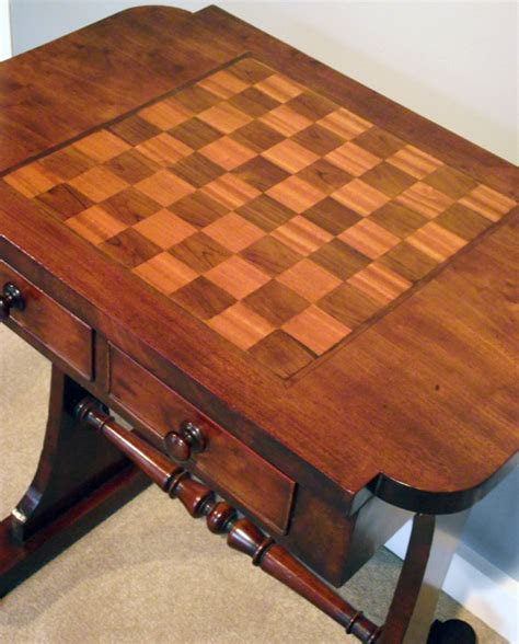 antique mahogany chess table antique chequer board