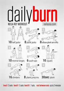 daily workout plan for at home quick fat burning cardio workouts a listly list