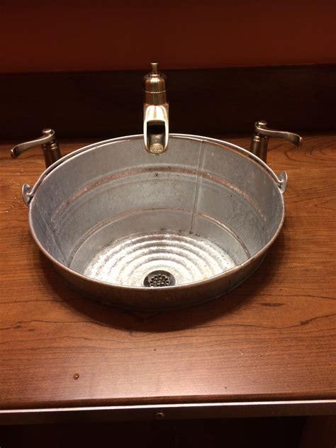 Galvanized bathroom sink 28 images 17 best images about galvanized sinks on galvanized