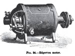 History Of Electric Car Motors Edgerton Electric Motor Co History Vintagemachinery Org