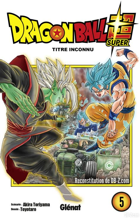 2344030034 dragon ball super tome dragon ball super la cover du tome 5 se d 233 voile