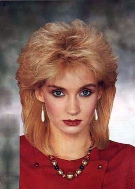 80s rock hairstyles 1980s the period of women rock hairstyle boom
