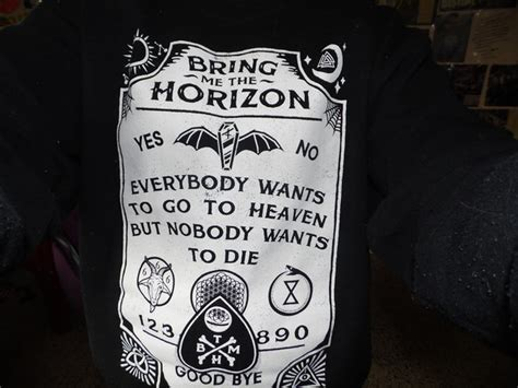 Vest Hoodie Bring Me The Horizon Bmth Jaket Rompi Yomerch sweater black sweater awesome ouija ouija