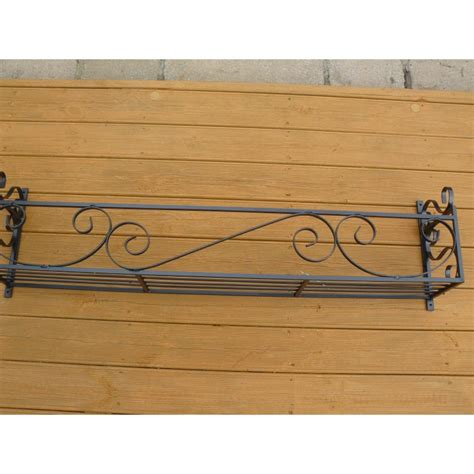 wrought iron window boxes uk window box trough holder 46in length