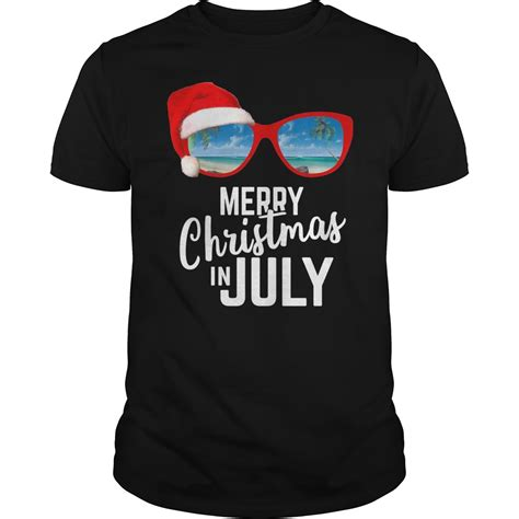 Merry Shirt merry in july shirt hoodie tank top v neck t