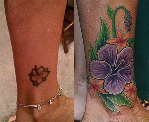 flower cover ups flower cover up by daniel chashoudian tattoonow