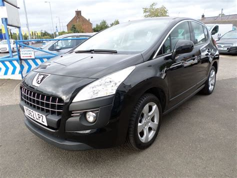 black peugeot for sale used black peugeot 3008 for sale dumfries and galloway
