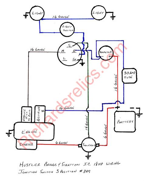 12 hp briggs and stratton wiring diagram wiring diagrams briggs and stratton wiring diagram 21