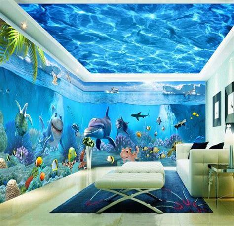 harga wallpaper plafon hd langit langit stiker dinding