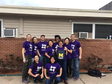 Ross Mba Schedule by Reflections From Service Corps Houston