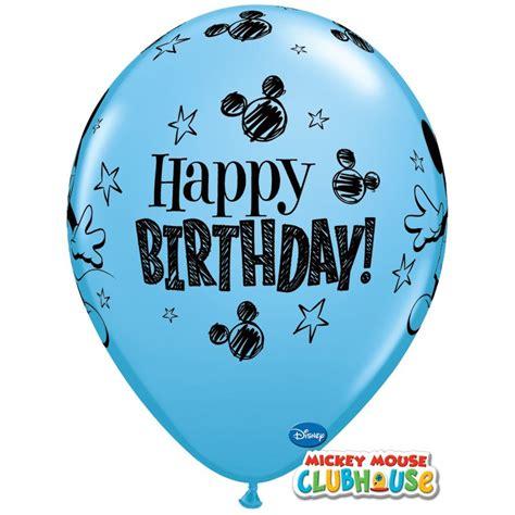 Balon Happy Birthday Mickey Mouse 22094 magicbaloni balon mickey mouse bday