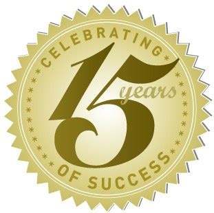 15 years in years celebrating 15 successful years in business think for a change