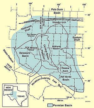 Admissions Mba Of Permian Basin by File Permian Basin Map Pdf