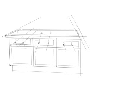how to draw a cabinet interior design rendering understanding details on a