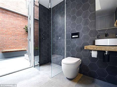 Black And White Tiled Bathroom Ideas the block 2014 these are the guys to beat the block s