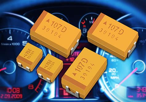 avx capacitors sles taj automotive range avx