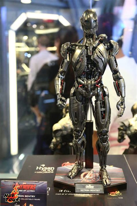 Toys Cosbaby Age Of Ultron Ultron Sentry toys assemble a groundbreaking size exhibit in hong kong sideshow collectibles