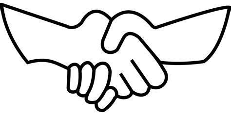 kostenlose vektorgrafik h 228 ndedruck handschlag gesch 228 ft kostenloses bild auf pixabay 159885