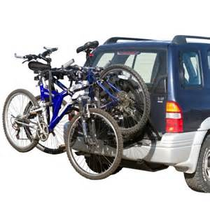 2 bike spare tire bicycle carrier rack for suv and rv