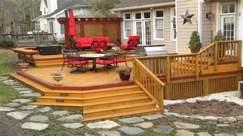 Multi Level Patio Designs by Multi Level Deck Designs Floating Deck Designs Multi Level