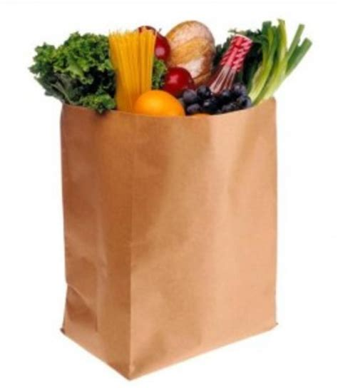 grocery bag clipart grocery bag x free images at clker vector clip
