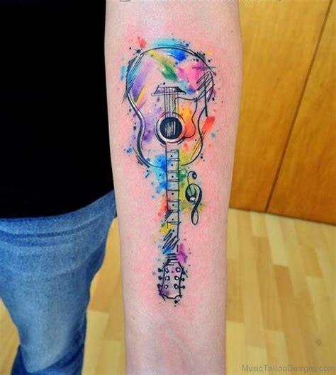guitar tattoo 40 guitar tattoos for wrist