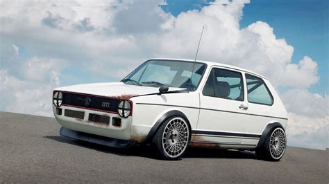 volkswagen gti stance volkswagen golf gti mki stance with racing jr14
