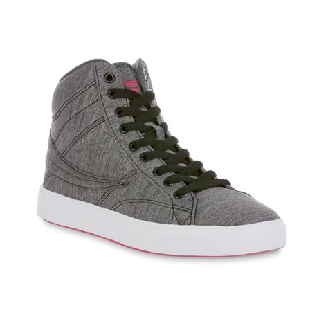 fila high top sneakers fila s smokescreen gray space dyed high top sneaker