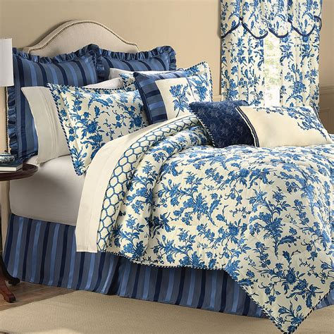 blue flower comforter set spring flowers comforter bedding