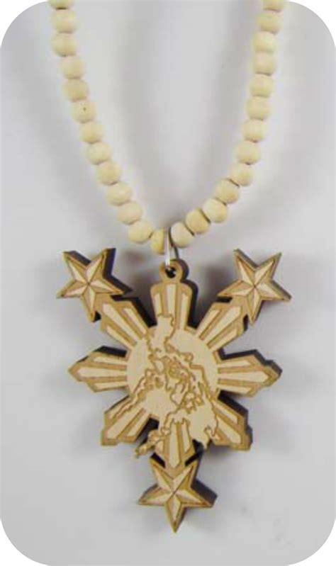 wood style necklace philippines map wooden pendant rosary