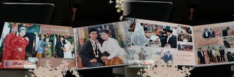 contoh desain foto wedding contoh desain dalam album kolase wedding pernikahan