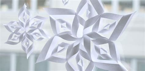 Ellinee The Paper Snowflake - paper snowflake templates