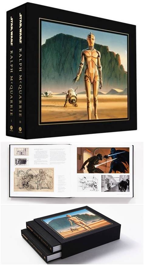 Hardcover Coffee Table Books Deluxe Hardcover Coffee Table Book For Fans Wars Ralph Mcquarrie Gifts