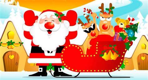 imagenes de navidad trineos un paseo en el trineo de santa cuento de navidad