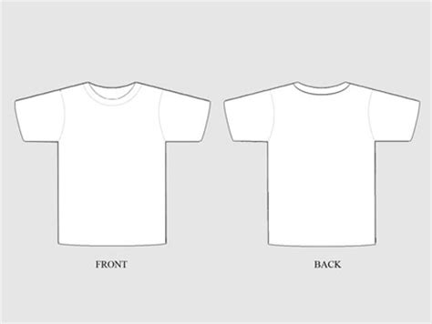 templates for t shirt design 19 free blank t shirt template designs