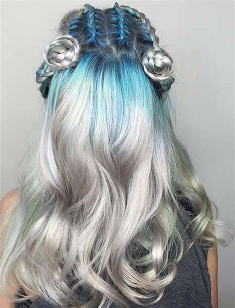 colorful hairstyles 51 colorful hairstyles tutorials for charming 2017