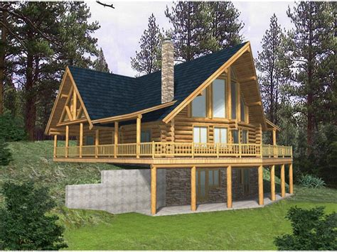 log home floor plans with garage and basement rustic cabin plans for enjoying your weekends away from