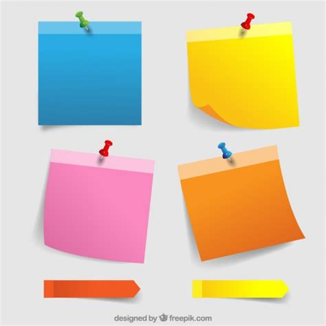 Memo Kayu Post It Ys 233 sticky notes vectors photos and psd files free