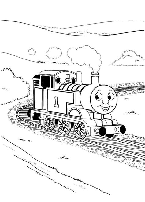 thomas coloring page pdf coloring pages free printable train coloring pages for
