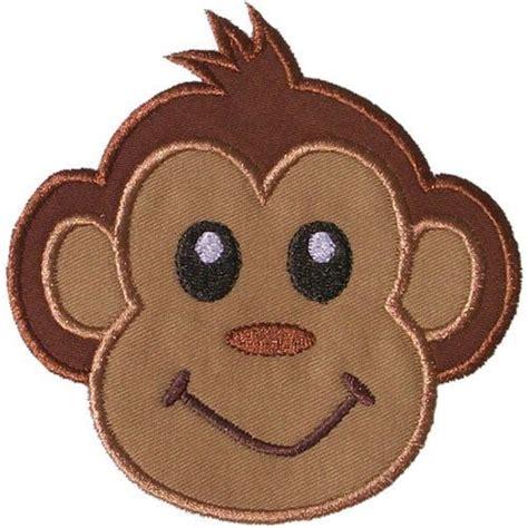 monkey applique monkey applique machine embroidery design awesome