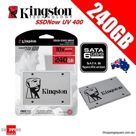 Ssd Kingston Uv400 240 Gb Faster 2 5 Sata kingston ssdnow uv400 240gb solid state drive ssd 2 5 inch sata 3 up to 550mb s